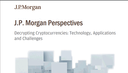 J.p morgan perspectives decrypting cryptocurrencies technology applications